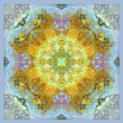 Symmetrical Ornaments, Mandala, Colourful-Alaya Gadeh-Photographic Print