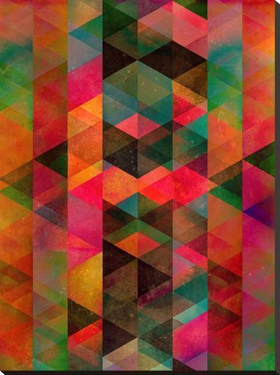 Symmyr Bryyzz-Spires-Stretched Canvas Print