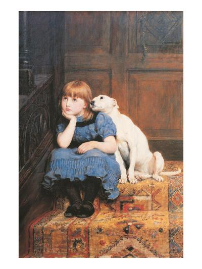 Sympathy-Briton Rivi?re-Art Print
