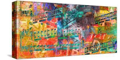 Symphomy 4th&Broadway-Parker Greenfield-Stretched Canvas Print