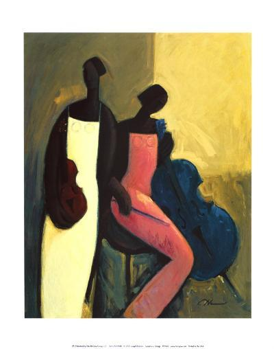 Symphonic Strings-Joseph Holston-Art Print
