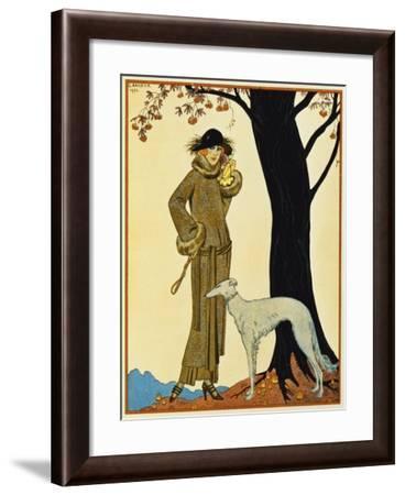 Symphonie Automnale from Gazette Du Bon Ton, France, 20th Century--Framed Giclee Print