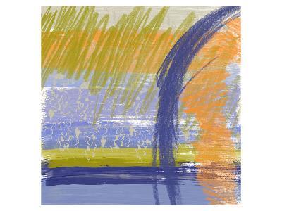 Symphony in Purple I-Yashna-Art Print