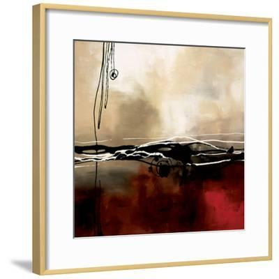 Symphony in Red and Khaki I-Laurie Maitland-Framed Premium Giclee Print