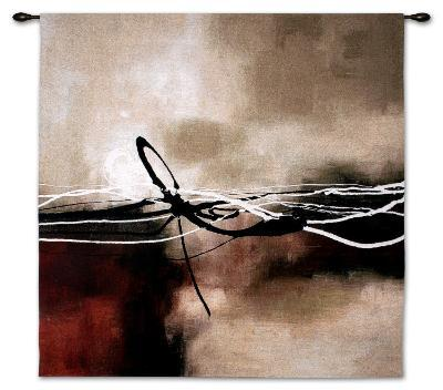 Symphony in Red and Khaki II-Laurie Maitland-Wall Tapestry
