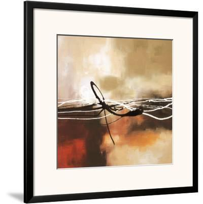 Symphony in Red and Khaki II-Laurie Maitland-Framed Art Print