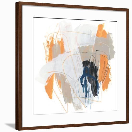 Symphony in Riffs VI-June Vess-Framed Art Print