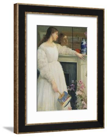Symphony in White, No. 2: The Little White Girl-James Abbott McNeill Whistler-Framed Giclee Print
