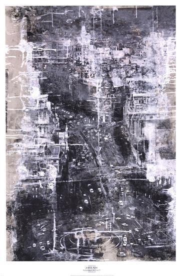 Symphony of the City IV-Jorge Azri-Art Print