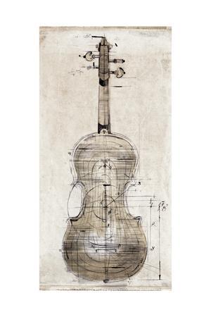 Violin Study, Back