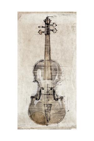 Violin Study, Front