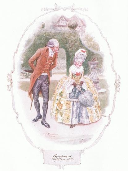 Symptoms of Flirtation Still-Charles Edmund Brock-Giclee Print