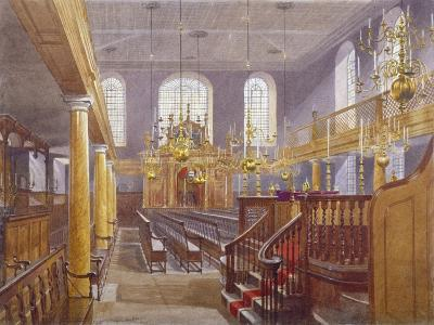 Synagogue, Bevis Marks, City of London, 1884-John Crowther-Giclee Print