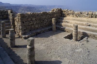 Synagogue, Masada--Photographic Print