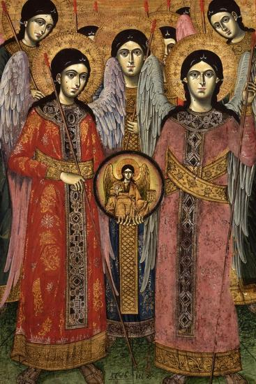 Synaxis (Assembly) of the Archangels--Art Print