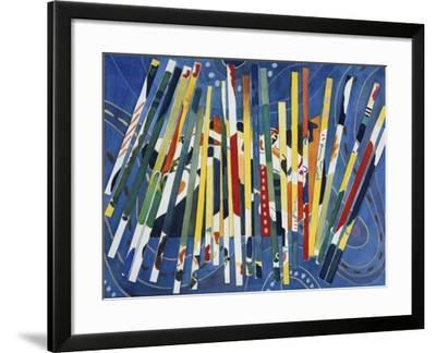 Synchopation III-Gil Mayers-Framed Giclee Print