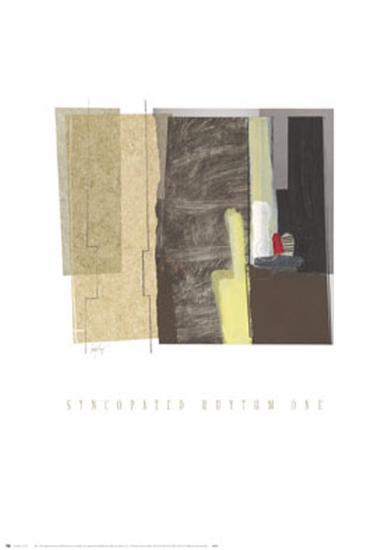 Syncopated Rhythm I-Craig Alan-Art Print