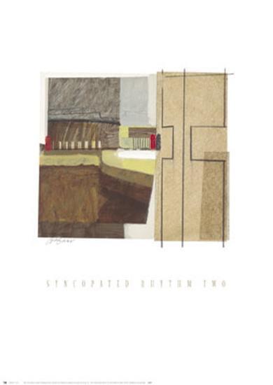 Syncopated Rhythm II-Craig Alan-Art Print