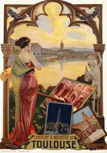 Syndicat D'Initiative De Toulouse Poster