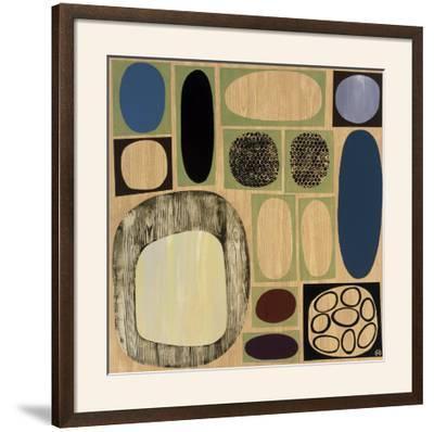 Synergy III-Mary Calkins-Framed Art Print