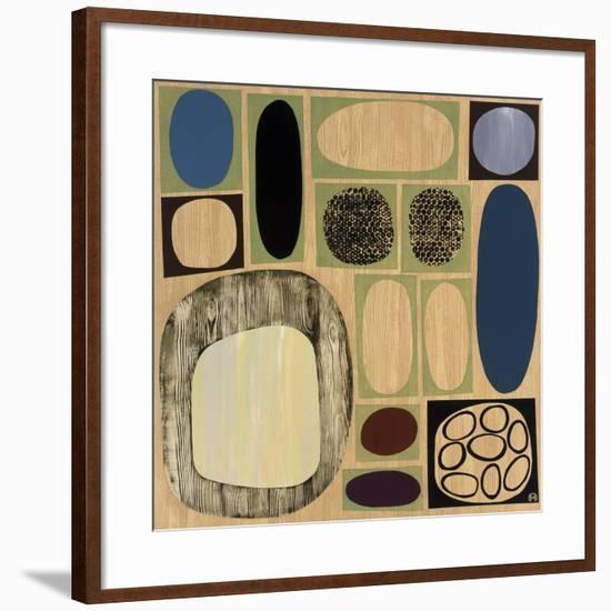 Synergy III-Mary Calkins-Framed Giclee Print
