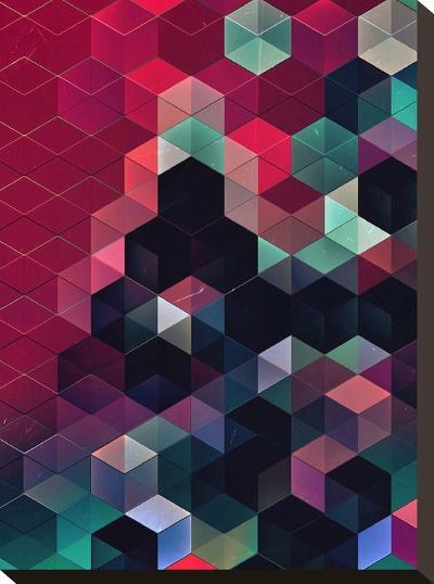 Syngwyn Rylyxxn-Spires-Stretched Canvas Print