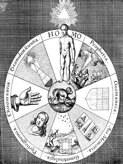 Synopsis of the Diviner's Arts, 1617-1619--Giclee Print