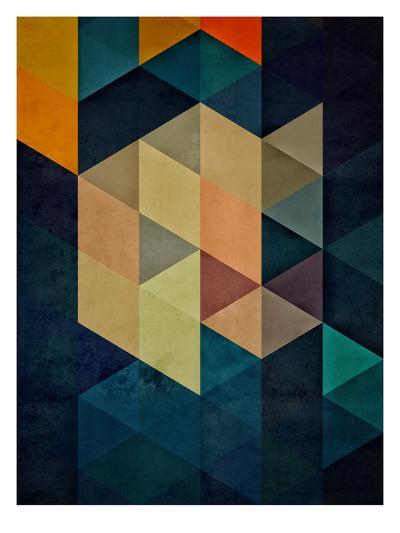 synthys-Spires-Art Print