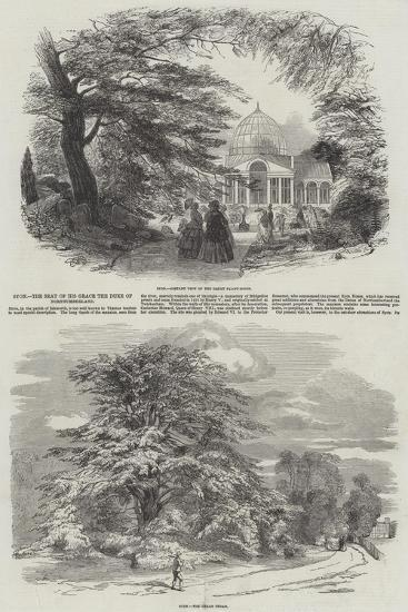Syon, the Seat of His Grace the Duke of Northumberland--Giclee Print