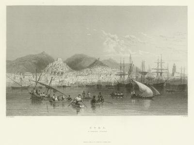 Syra, a Greek Island, 1837--Giclee Print