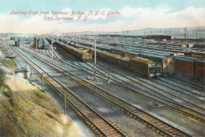 Syracuse Rail Yards--Art Print