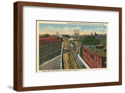 Syracuse Train, New York State