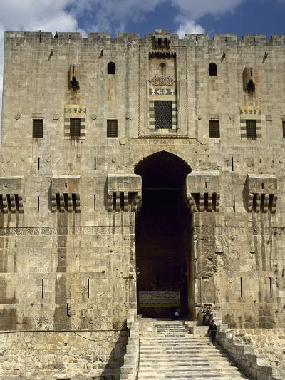Syria, Aleppo, the Citadel--Photographic Print
