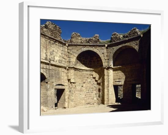 Syria, Bosra, Hammab Manshak, Old Public Baths, 14th Century, Ruins--Framed Photographic Print