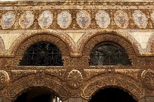 Syria - Damascus. Cultural Center Maktab 'Anbar, 1876. Detail of Architecture
