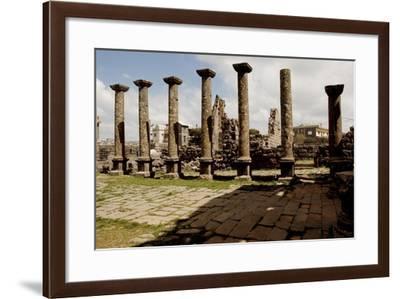 Syria, Mount Ad-Duruz, Qanawat, Temple of the Sun God AD--Framed Giclee Print