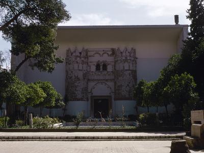 Syria. National Museum of Damascus. Exterior--Photographic Print