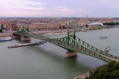 Szabadsag Hid (Liberty Bridge), Budapest, Hungary, Europe-Carlo Morucchio-Photographic Print