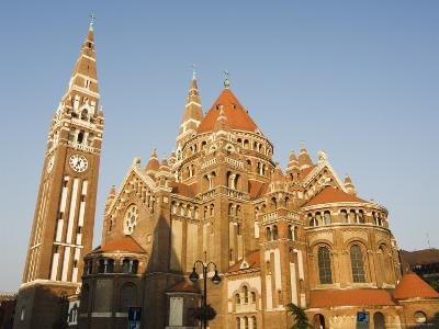 Szeged Cathedral, Szeged, Hungary-Christian Kober-Photographic Print