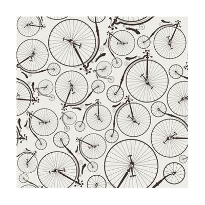 Vintage Bicycle Seamless