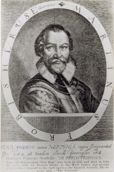 T.1558 Portrait of Martin Frobisher--Giclee Print
