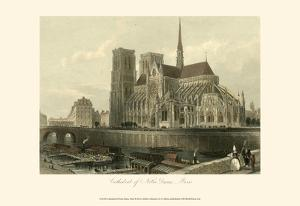 Cathedral of Notre-Dame, Paris by T^ Allom