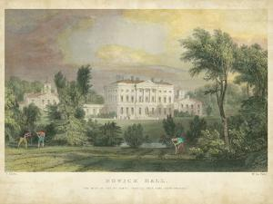 Howick Hall by T^ Allom