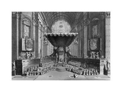Canonization of Saints in St Peter's Church, Rome