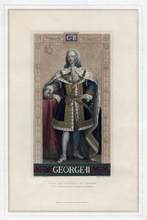 George II, King of Great Britain and Ireland