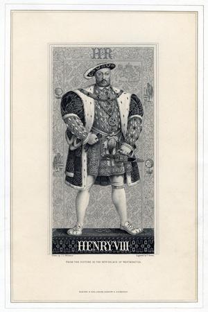 Henry VIII of England, (1491-154)