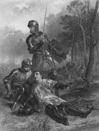 'The Death of the Earl of Warwick (King Henry VI)', c1870