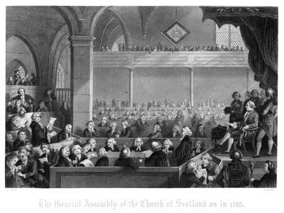 The General Assembly of the Church of Scotland as in 1783