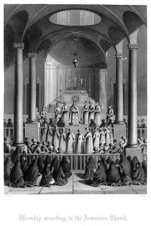 Worship According to the Armenian Church