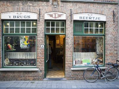 T Brugs Beertje, Bar, Bruges, Belgium, Europe-Martin Child-Photographic Print